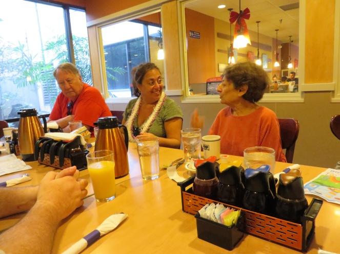 Dad, Alicia and Aunt Molly